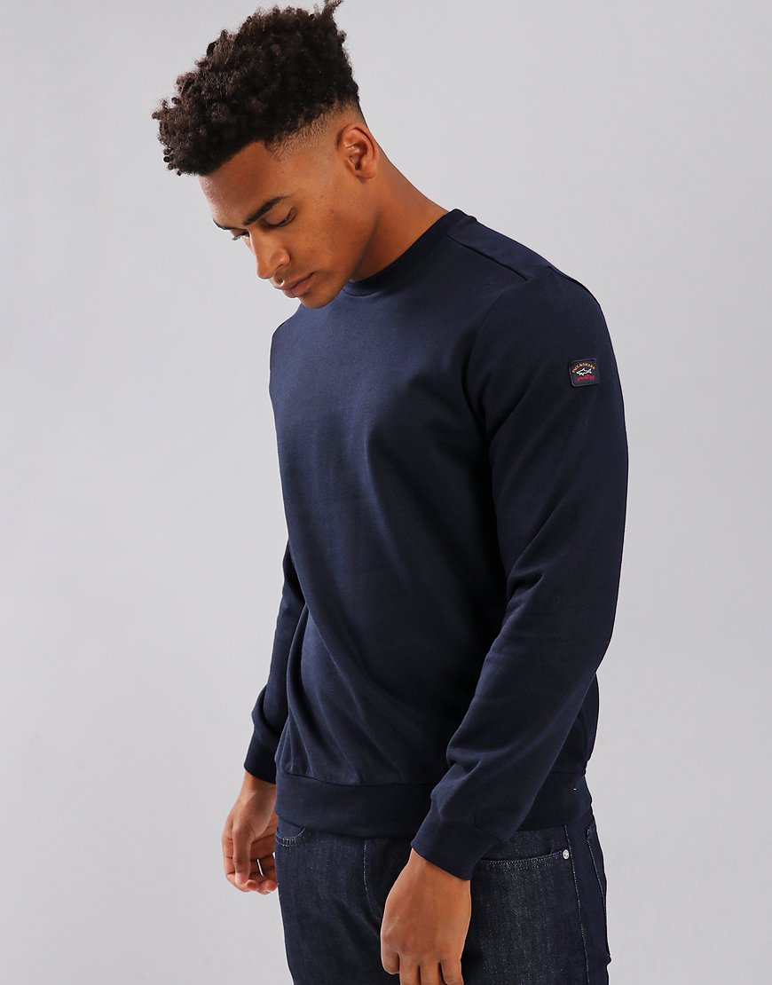 Paul & Shark Crew Neck Sweatshirt Blue