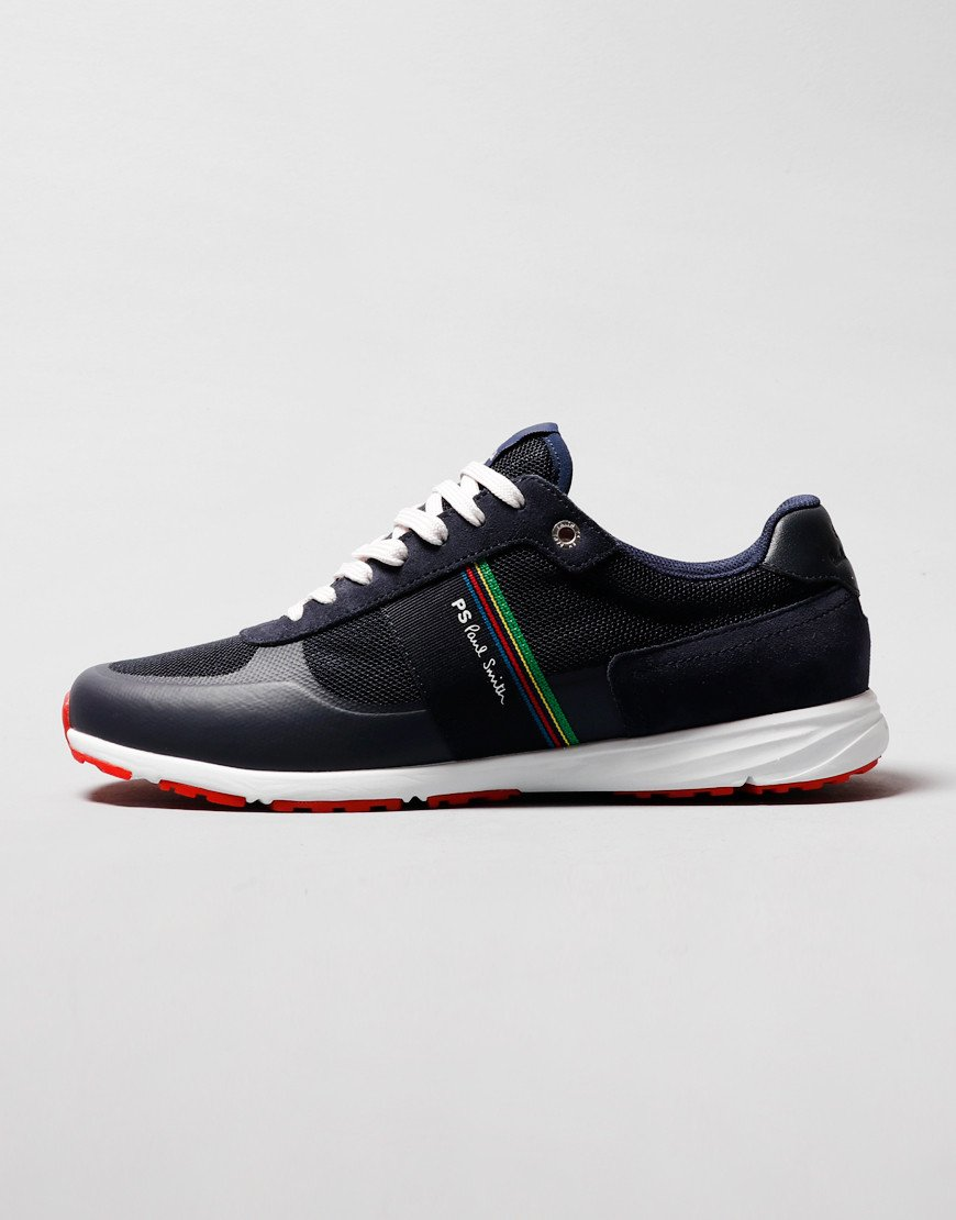 Paul Smith Huey Trainers Dark Navy