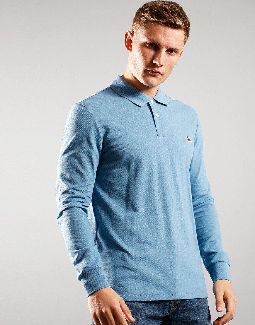 Paul Smith Long Sleeve Regular Fit Polo Shirt 43B