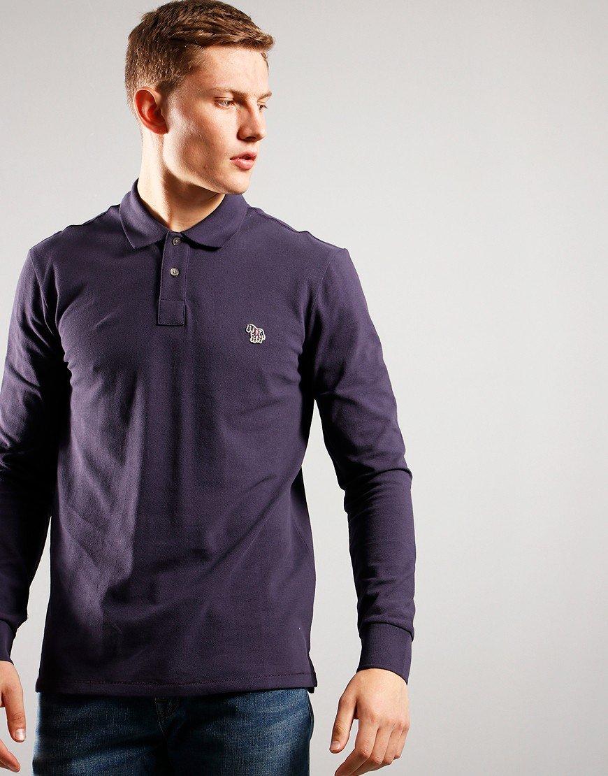 Paul Smith Long Sleeve Regular Fit Polo Shirt 54A