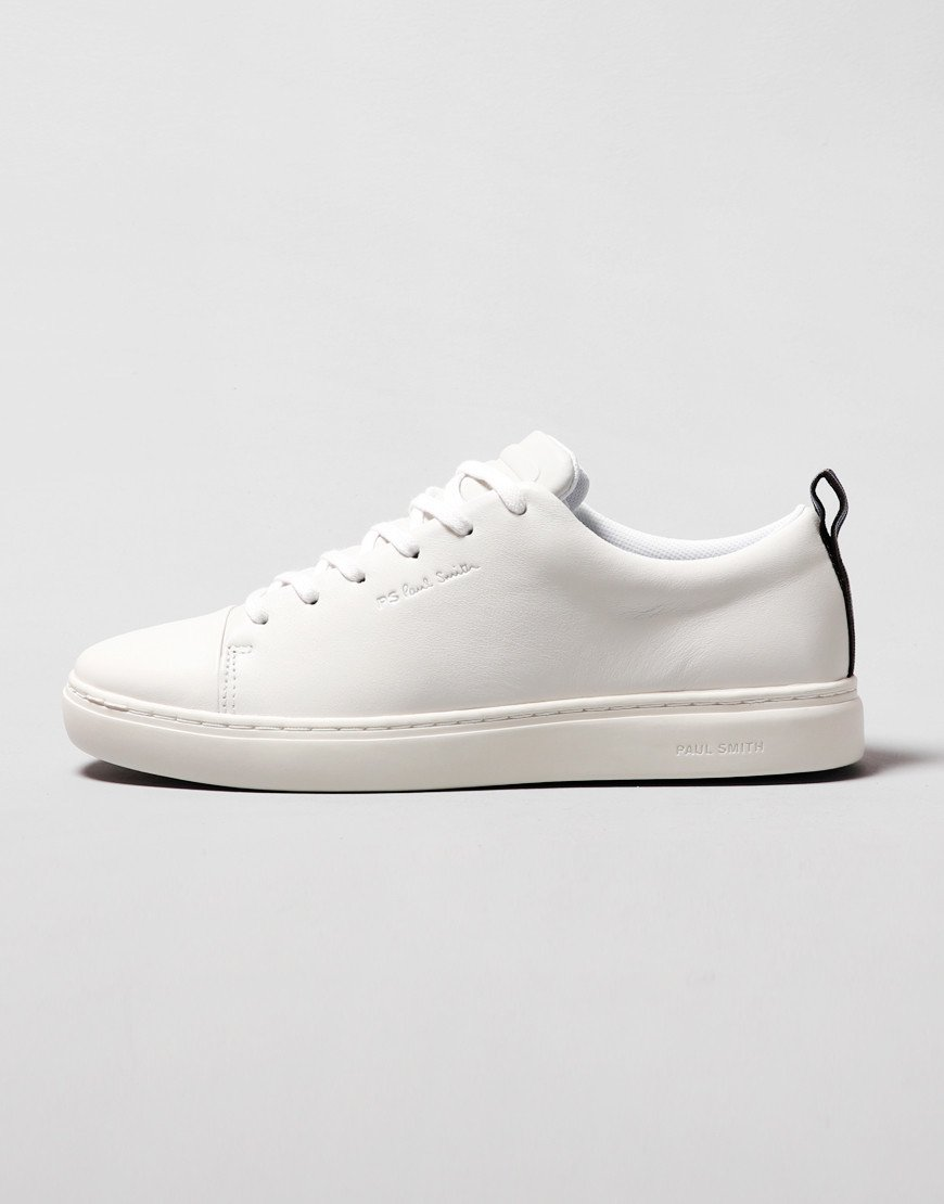 Paul Smith Lee Leather Trainers White