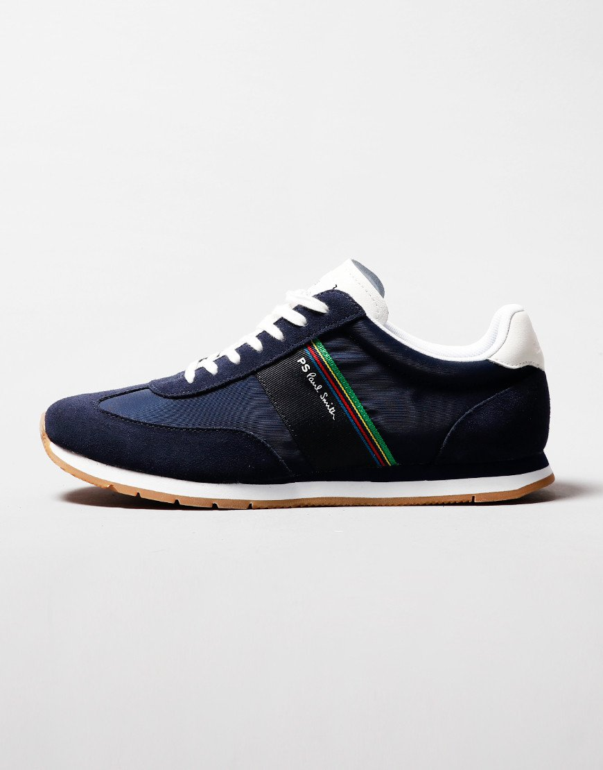 Paul Smith Prince Sports Trainer Dark Navy