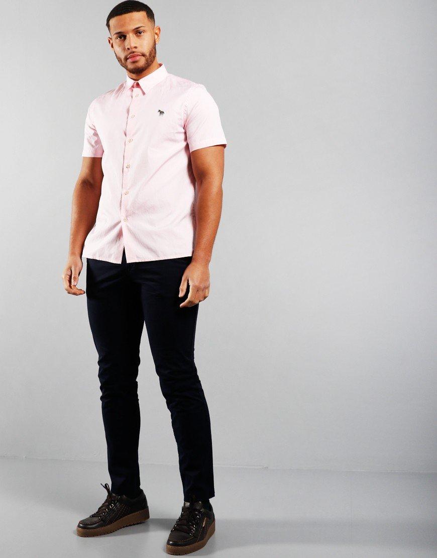 Paul Smith Casual Logo Shirt Pink