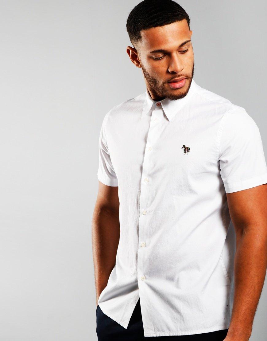 Paul Smith Casual Logo Shirt White
