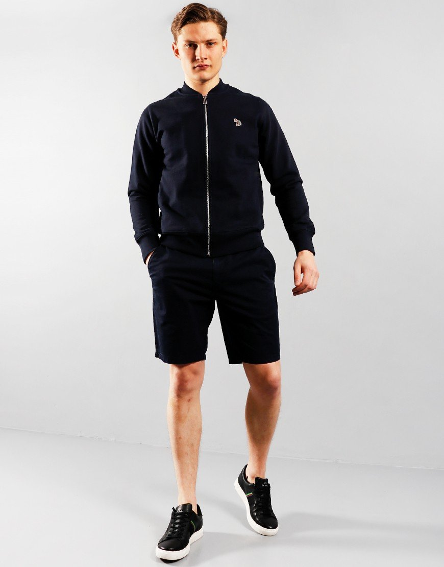 Paul Smith Bomber Zip Through Sweat Dark Navy