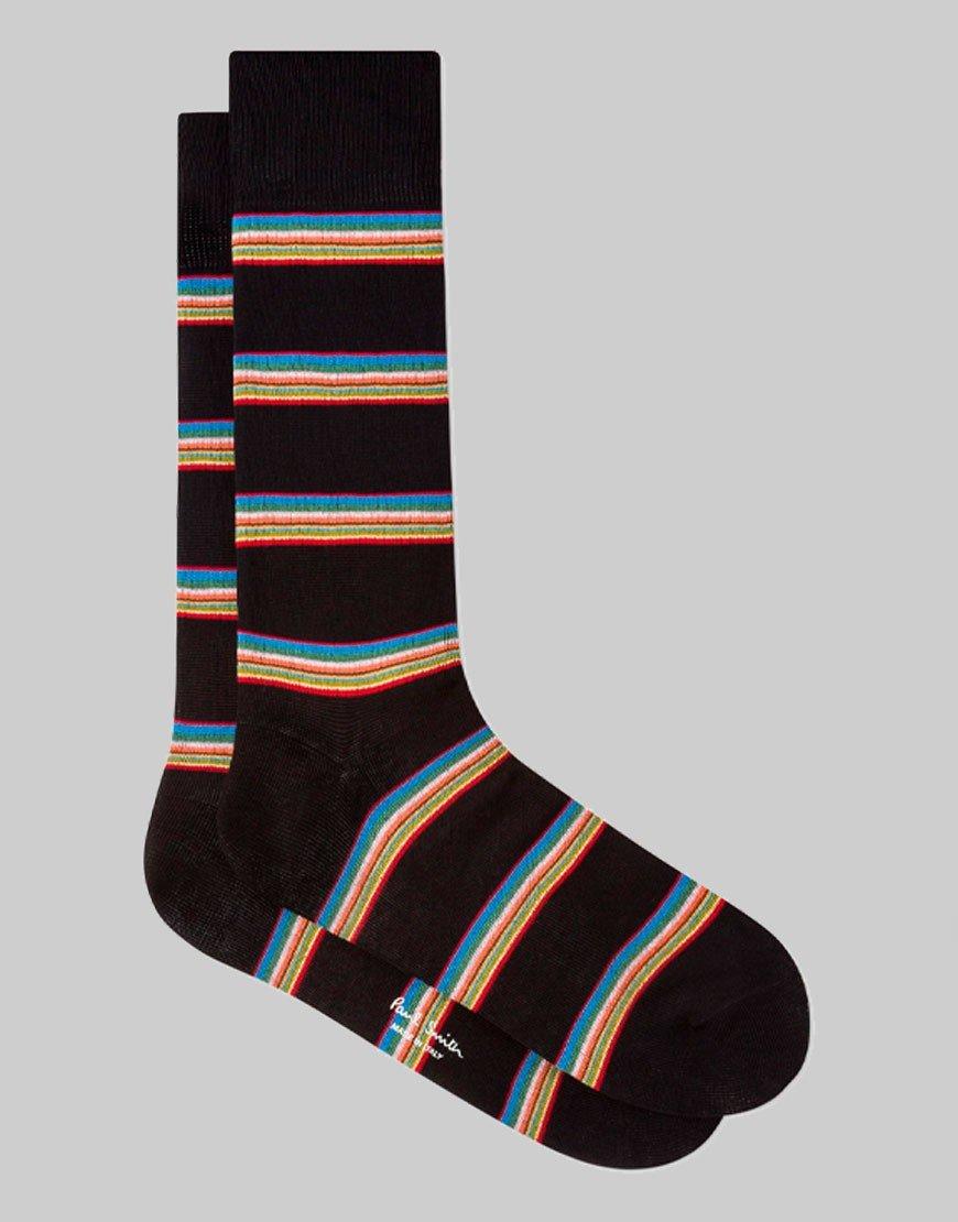 Paul Smith Multi Block Socks Black