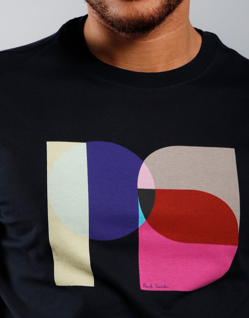 Paul Smith PS Logo T-Shirt Dark Navy