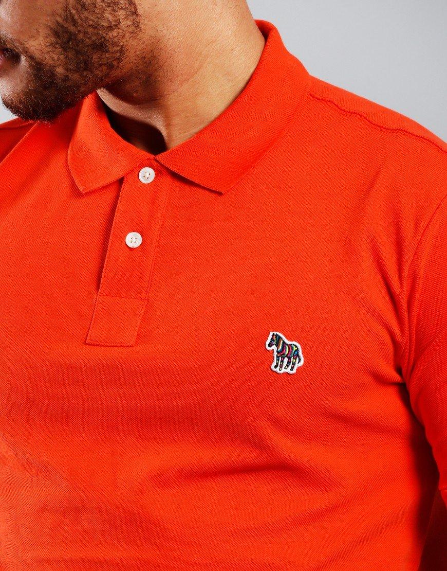 Paul Smith Regular Fit Polo Shirt Dark Orange