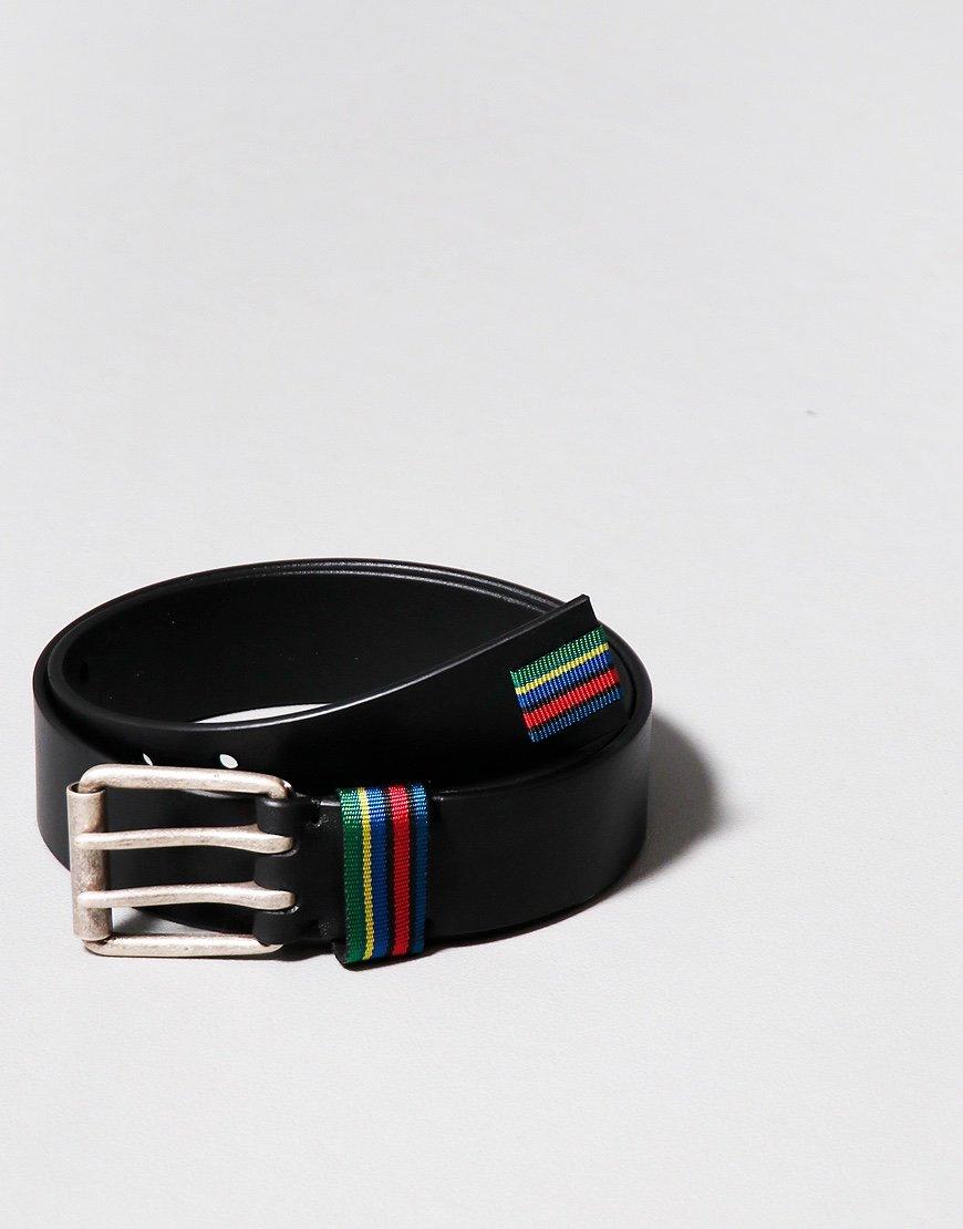 Paul Smith Keeper Leather Belt Black