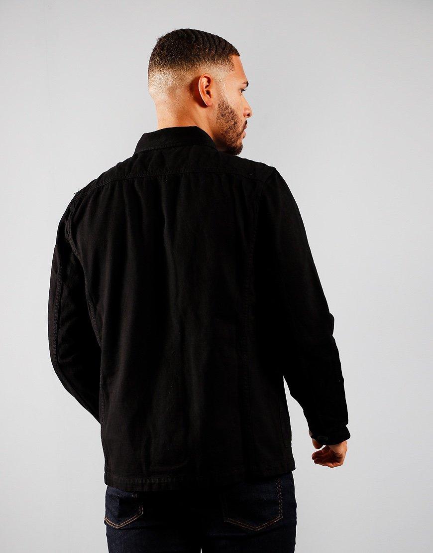 Paul Smith Chore Overshirt Jacket Black