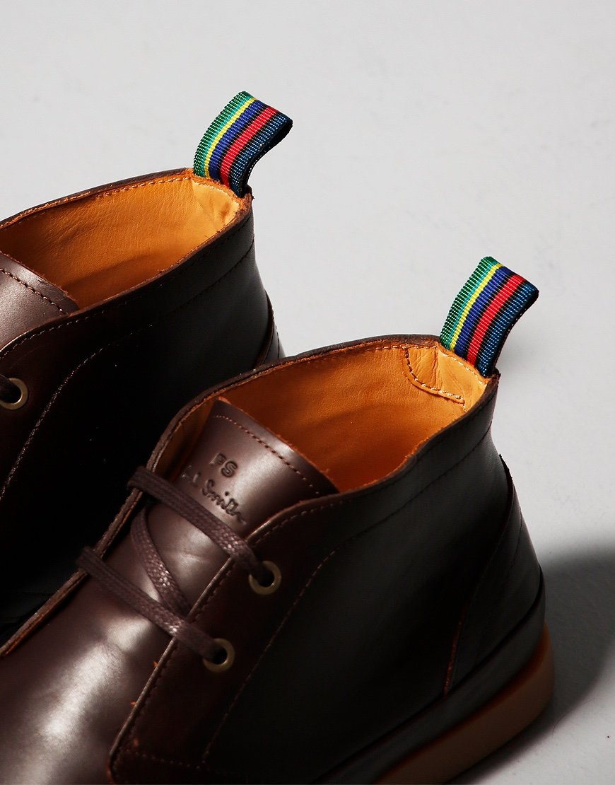 Paul Smith Cleon Boots Chocolate
