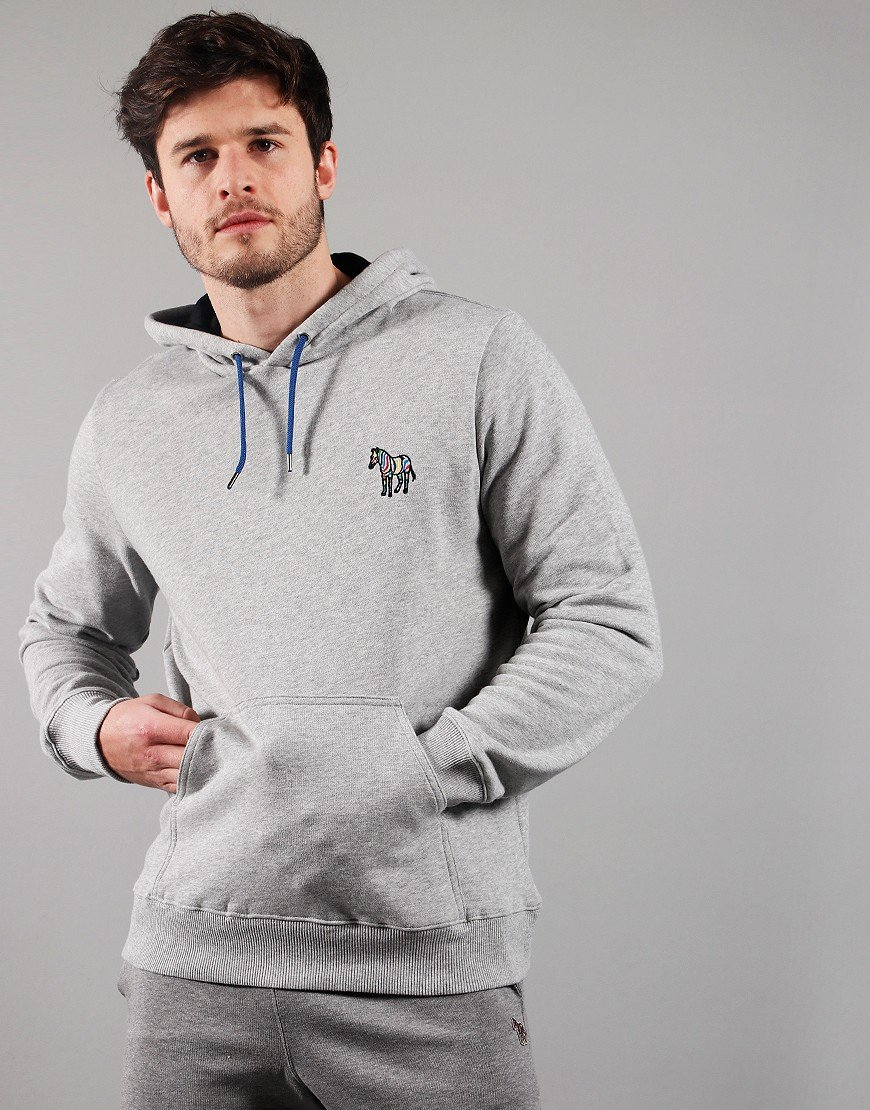 Paul Smith Embroidered Hoodie Melange