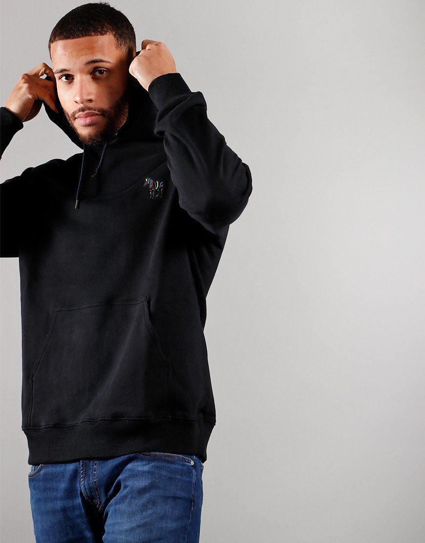 Paul Smith Embroidered Hoodie Black