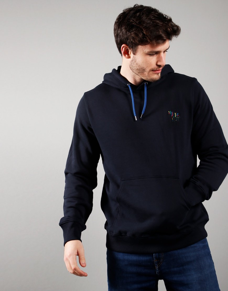 Paul Smith Embroidered Hoodie Dark Navy