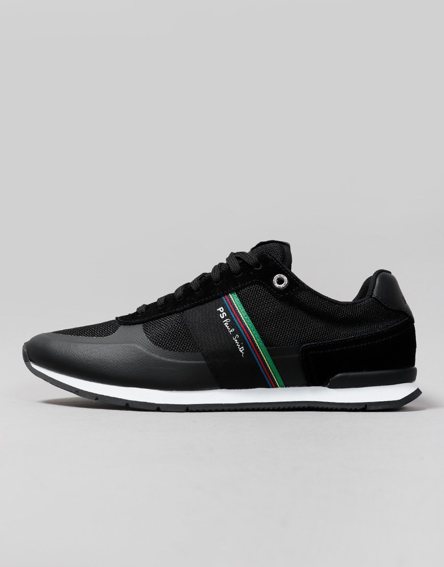 Paul Smith Ericson Cycle Stripe Trainers Black