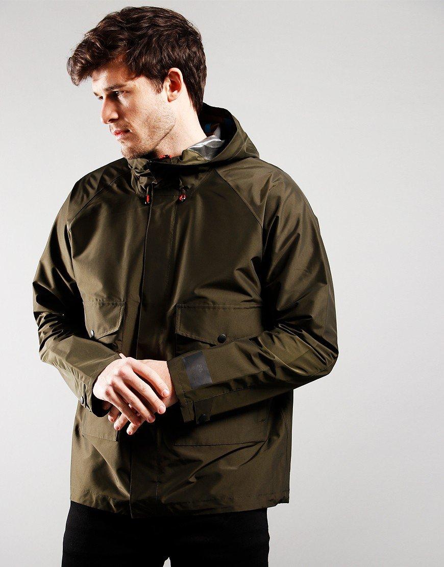 Paul Smith Hooded Jacket Dark Olive