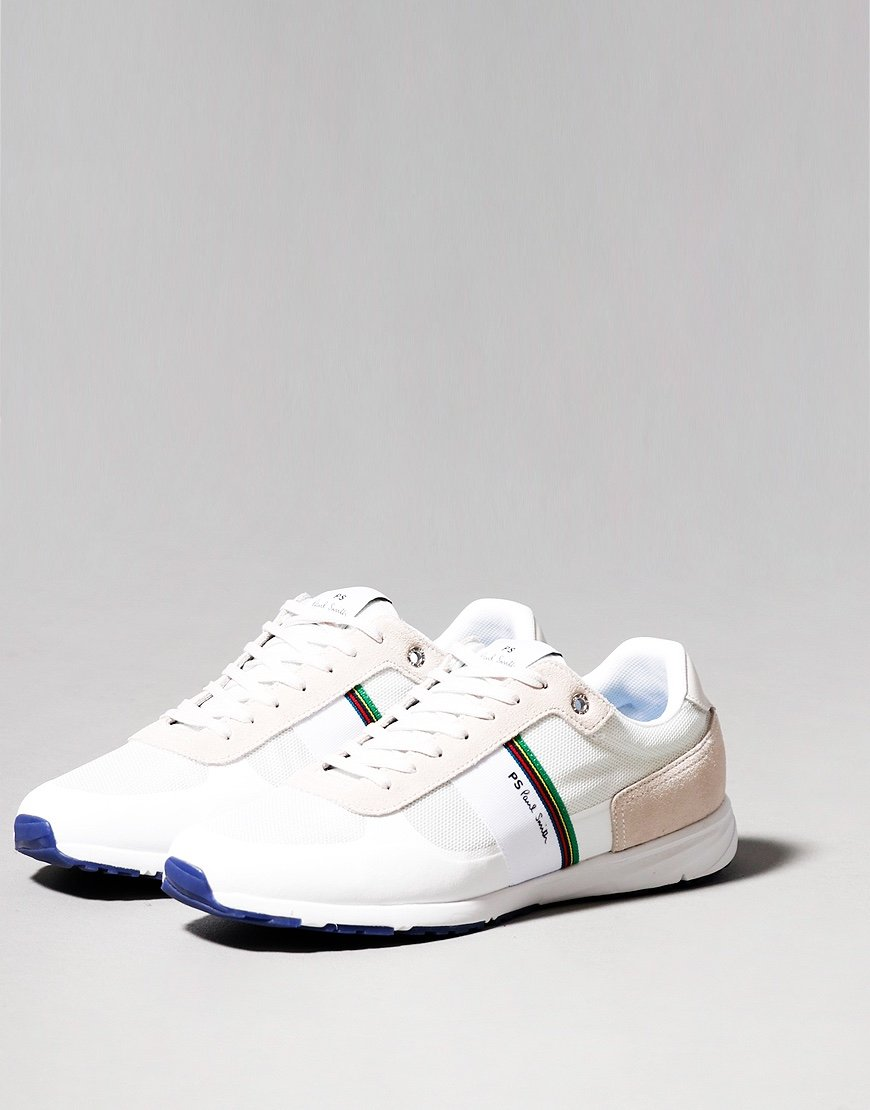 Paul Smith Huey Trainers White Navy