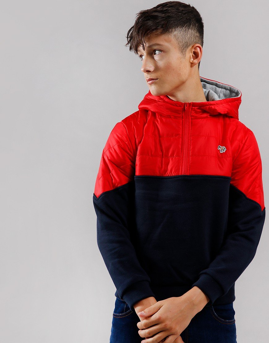 Paul Smith Junior Vitalis Hoodie Navy