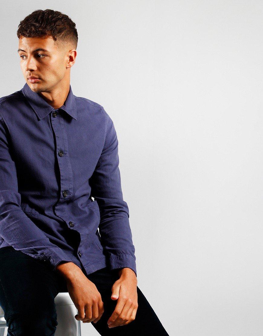 Paul Smith Long Sleeve Casual Shirt Indigo