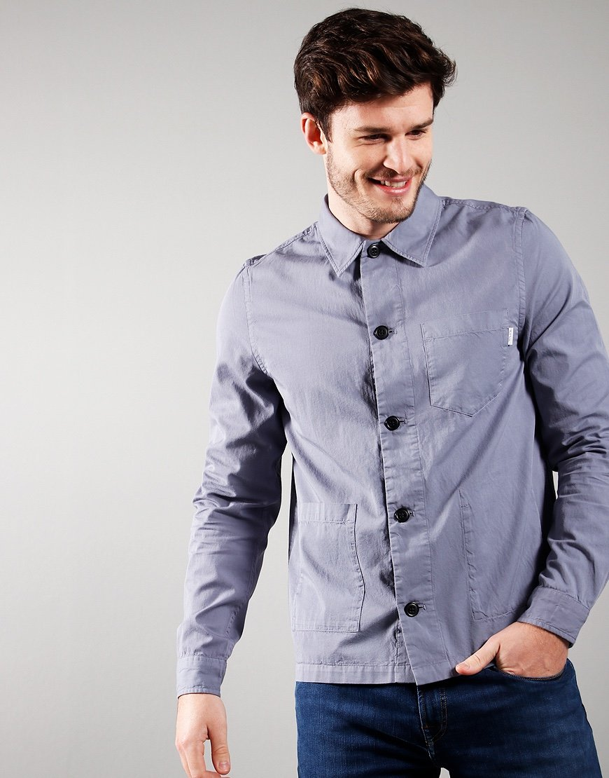 Paul Smith Long Sleeved Casual Fit Shirt Blue