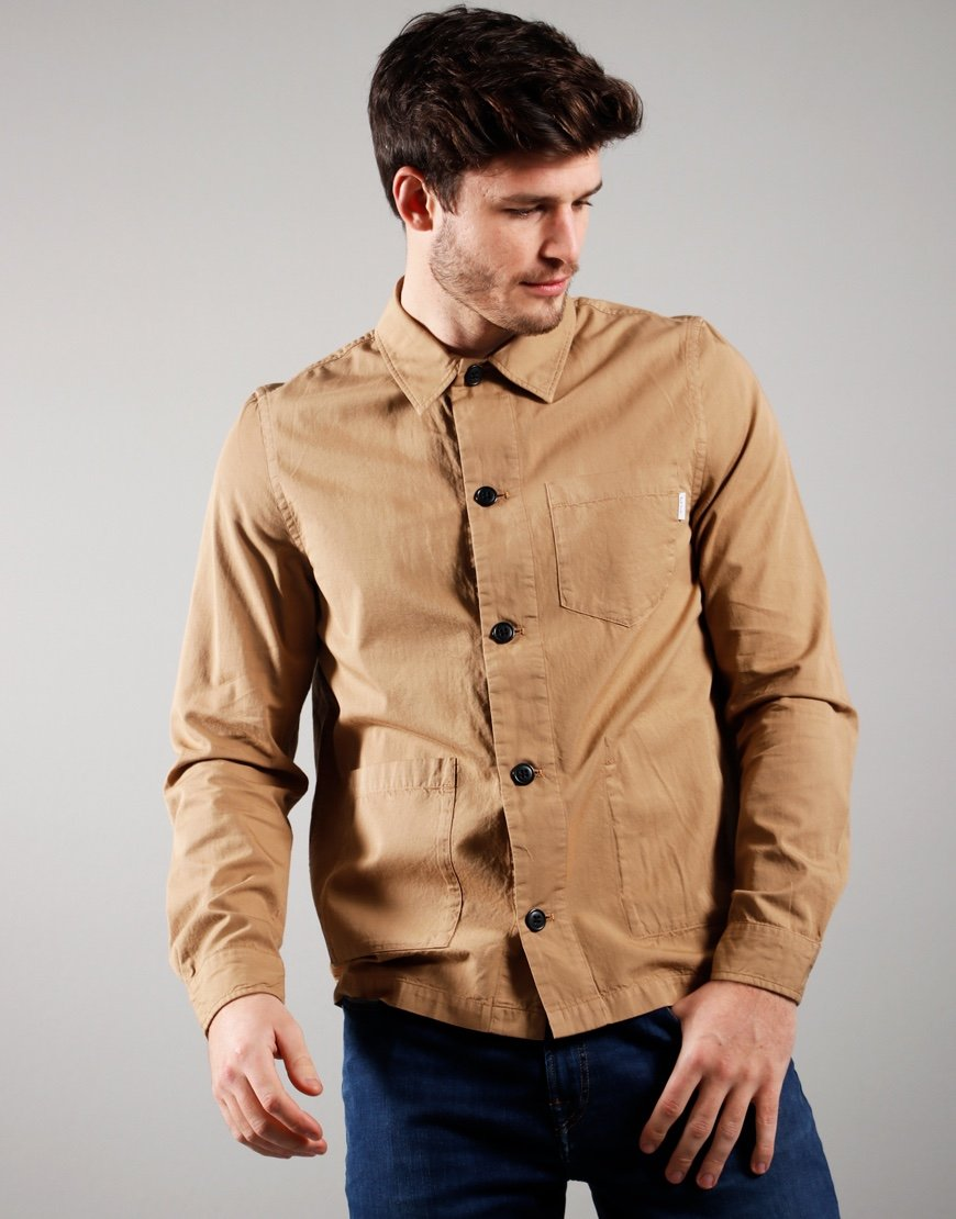 Paul Smith Long Sleeved Casual Fit Shirt Medium Beige