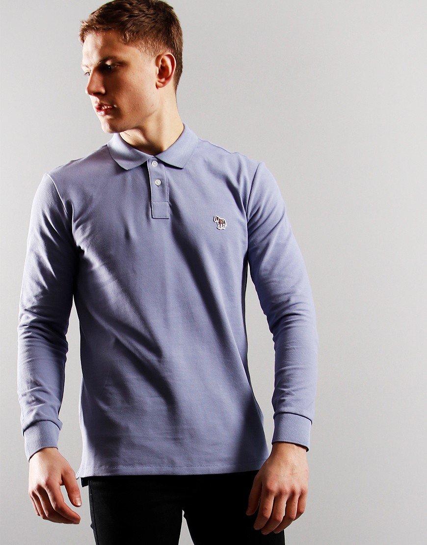 Paul Smith Long Sleeve Regular Fit Polo Shirt 40C