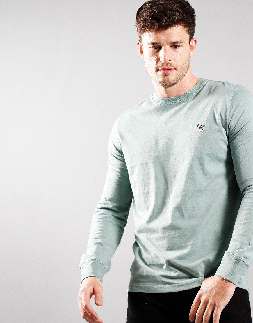 Paul Smith Long Sleeve Regular Fit T-Shirt Mint Green