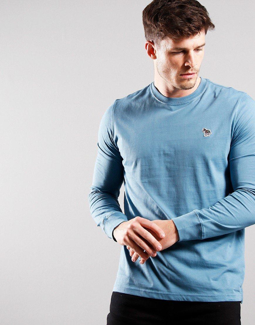 Paul Smith Long Sleeve Reg Fit T-Shirt Sky Blue