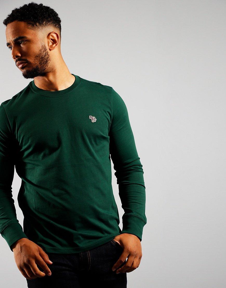 Paul Smith Long Sleeve Regular Fit T-Shirt Bottle