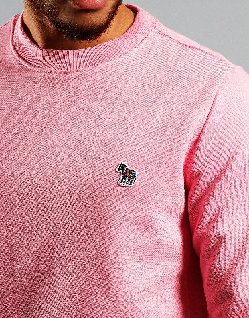 Paul Smith Zebra Logo Sweatshirt Coral