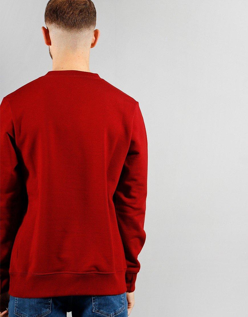 Paul Smith Long Sleeve Zebra Sweat Red