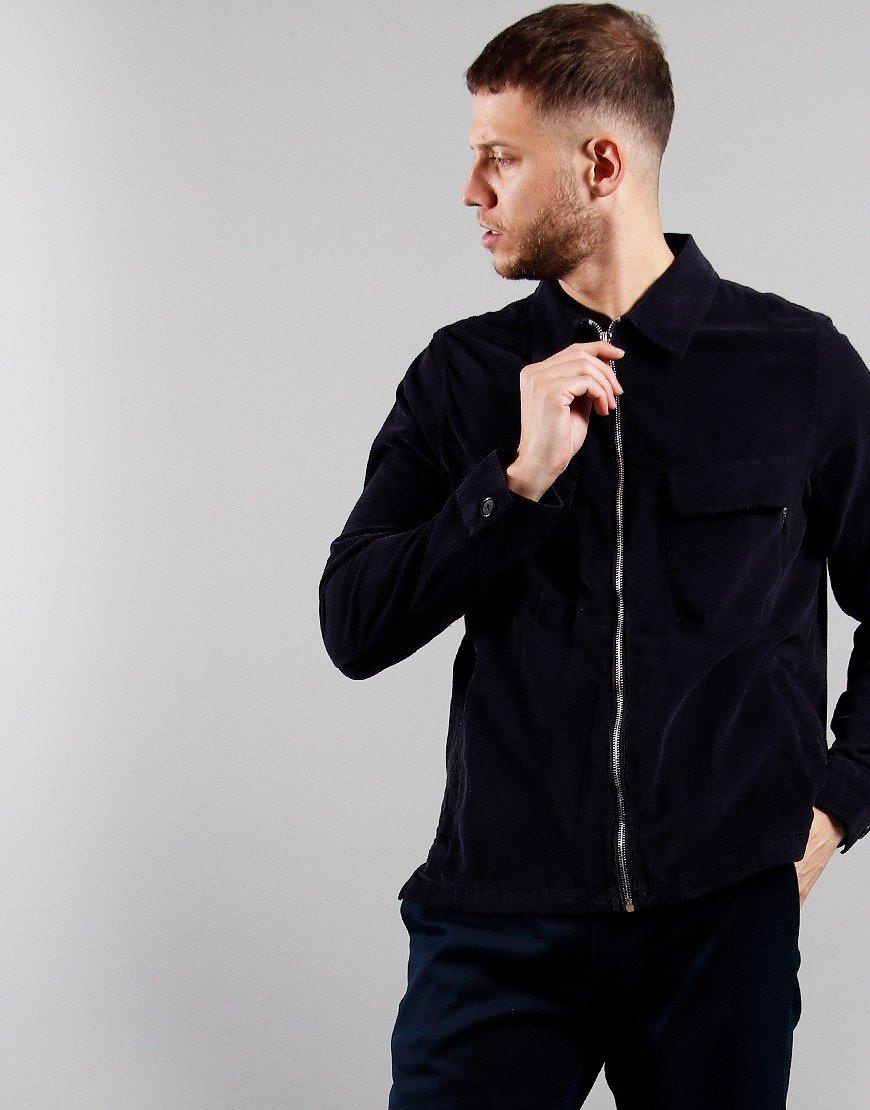 Paul Smith Zip Overshirt Dark Navy