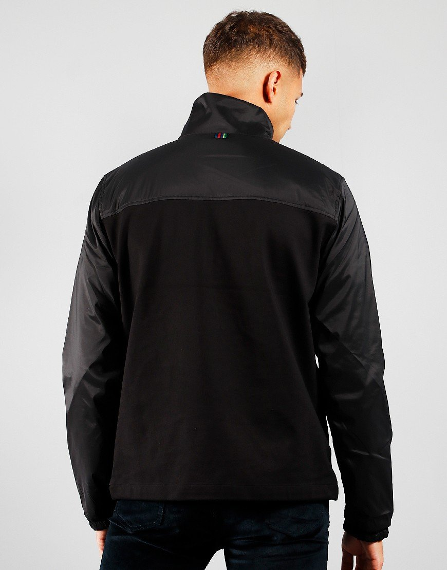 Paul Smith Overhead Half Zip Jacket Black