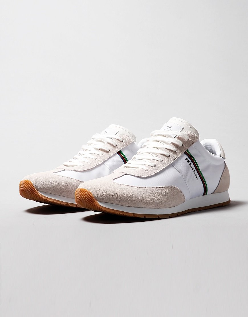 Paul Smith Prince Sports Trainers White