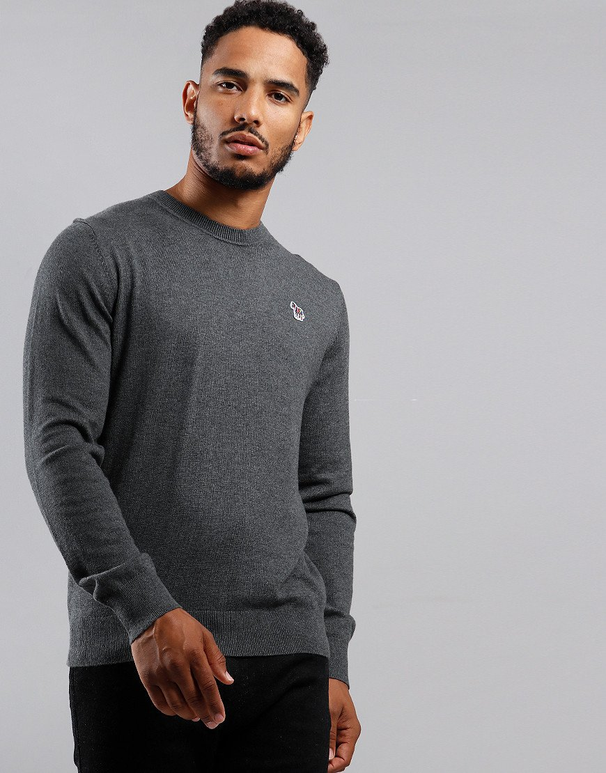 Paul Smith Pullover Crew Neck Knit Dark Taupe