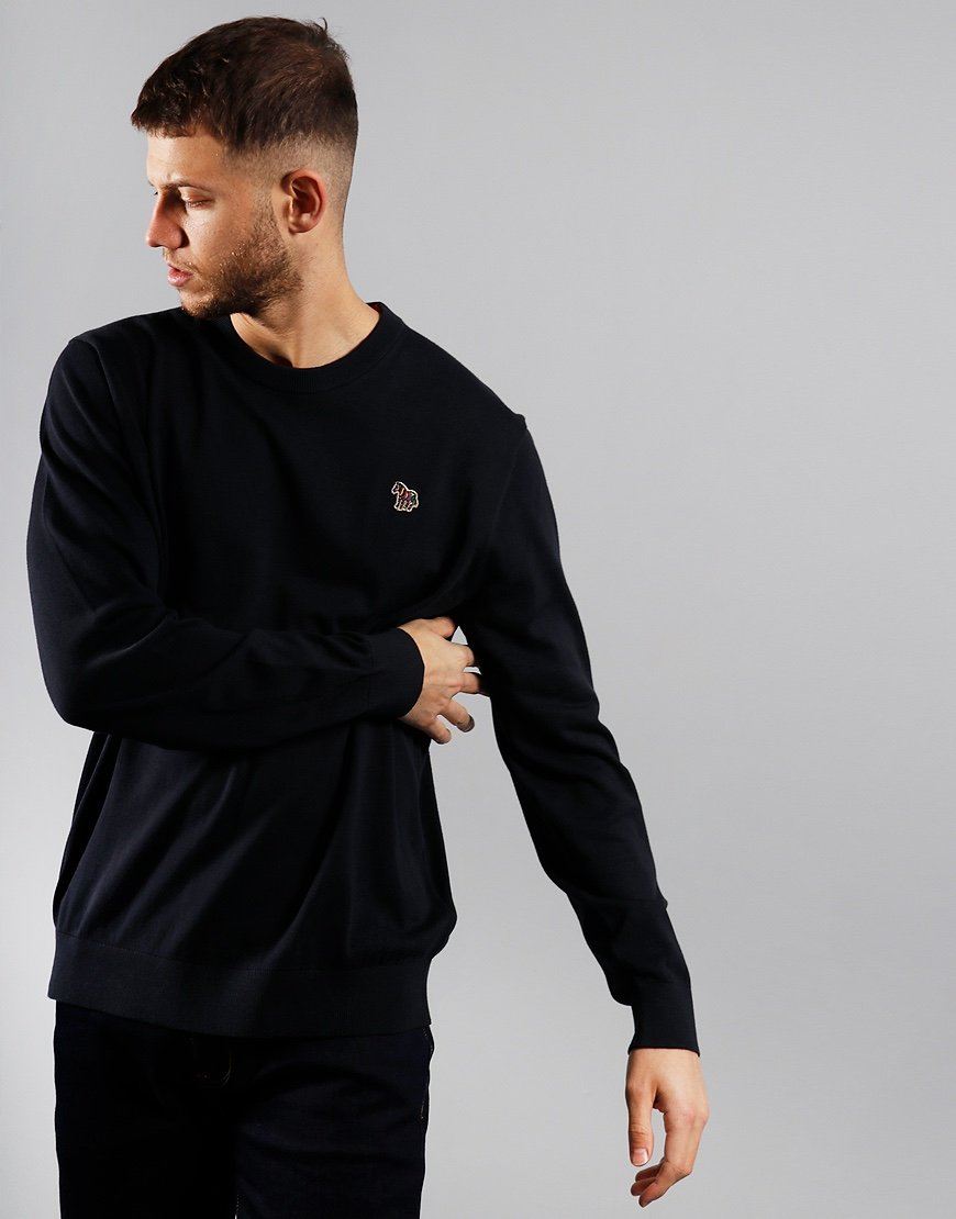 Paul Smith Pullover Crew Neck Knit Dark Navy