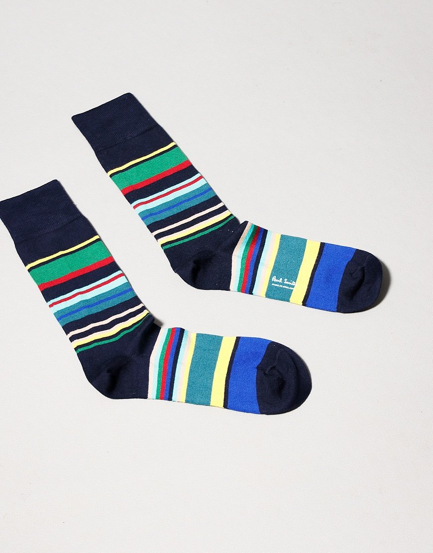 Paul Smith Ramsey Sock Cobalt Blue