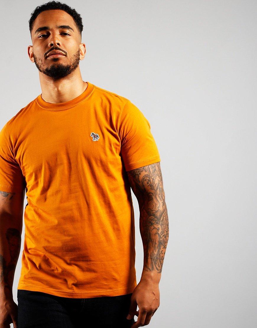 Paul Smith Short Sleeve Regular Fit T-Shirt Dark Orange