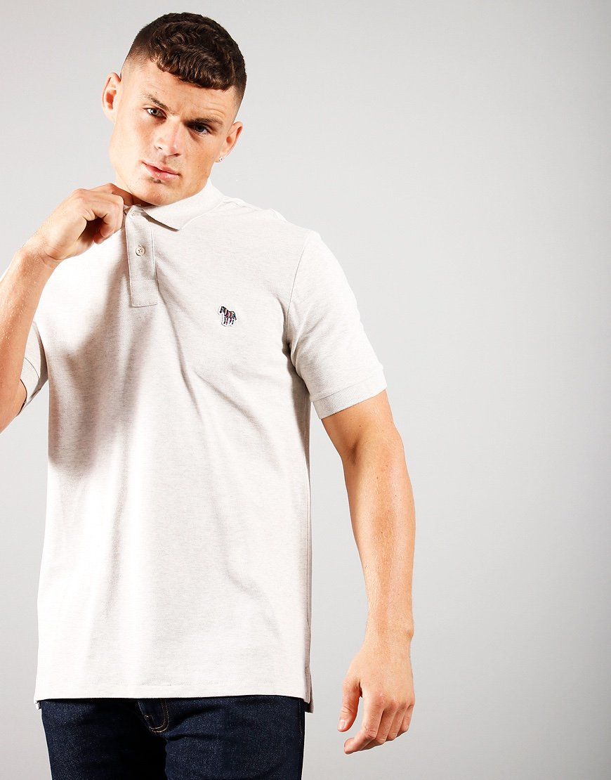 Paul Smith Reg Fit Polo Shirt Off White