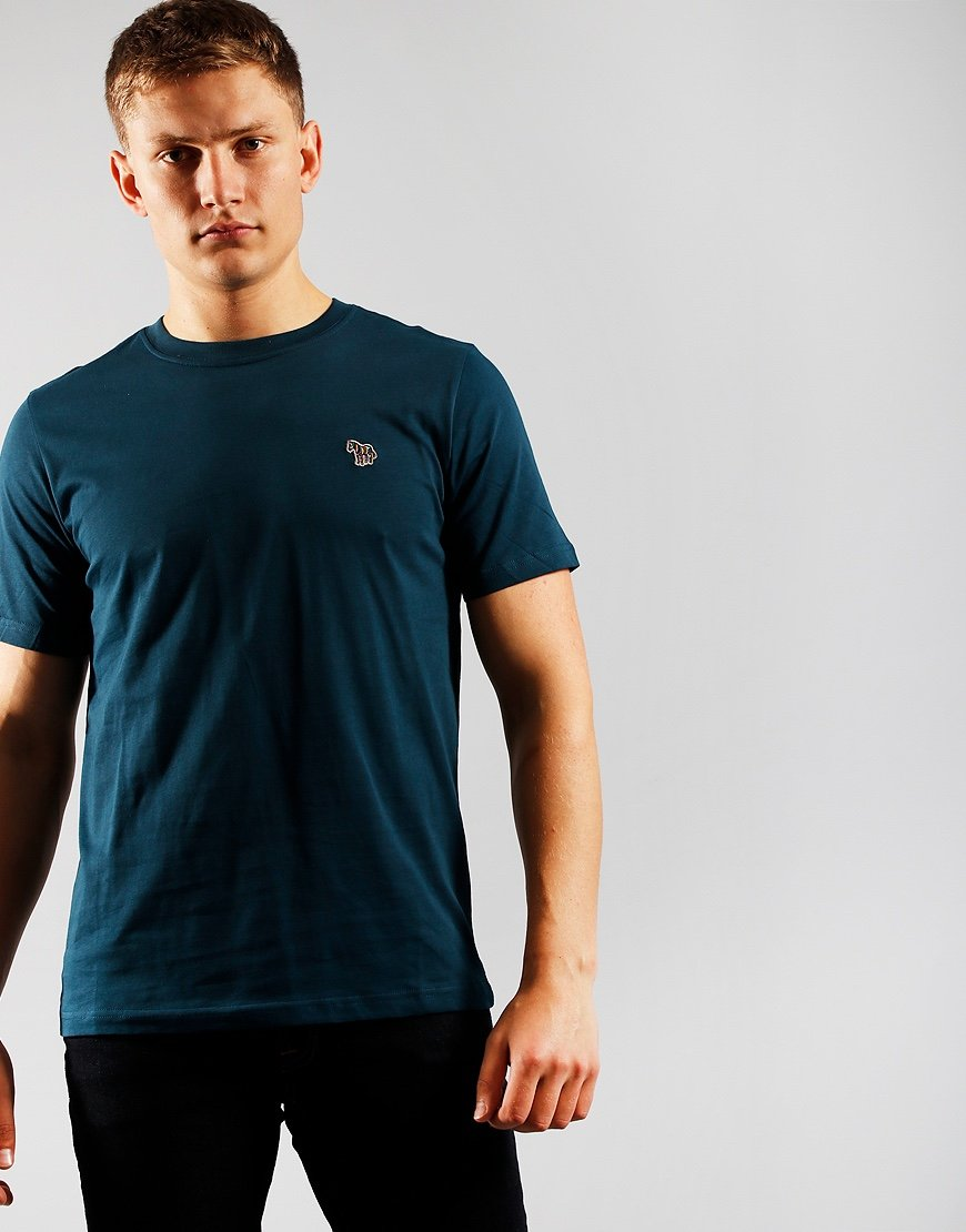 Paul Smith Short Sleeve Regular Fit T-Shirt Teal