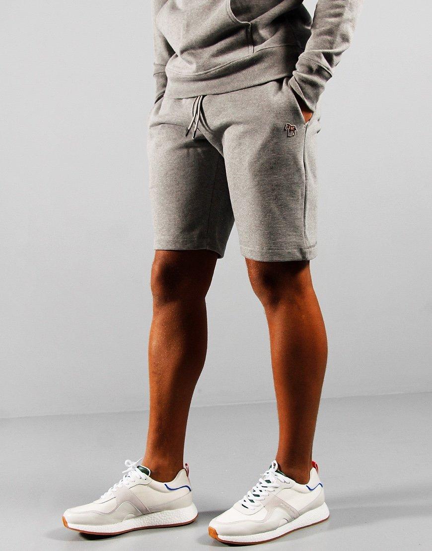 Paul Smith Zebra Jog Shorts Grey Melange