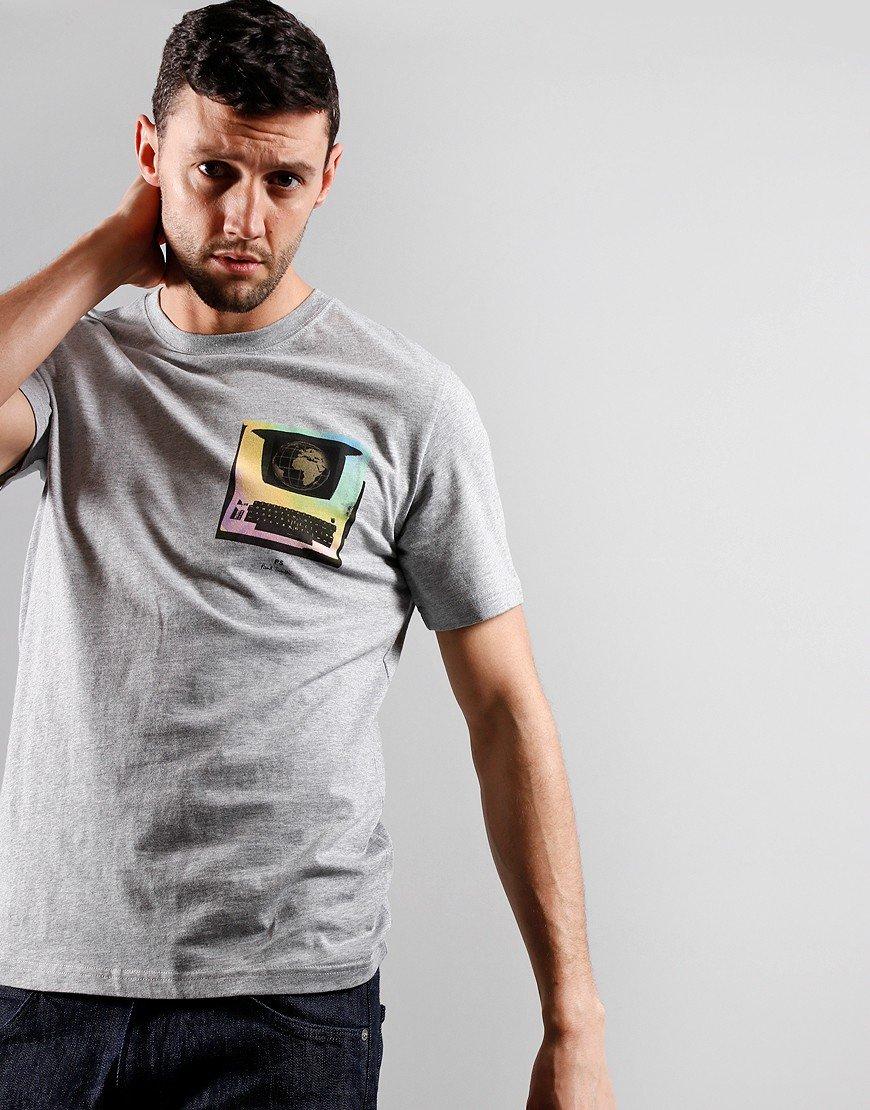 Paul Smith Regular Fit Shaman T-Shirt Melange