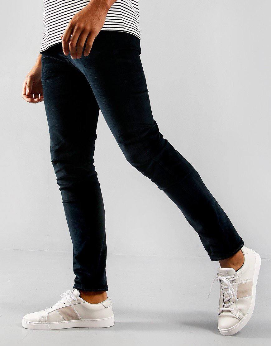 Paul Smith Corduroy Slim Fit Jeans Dark Navy
