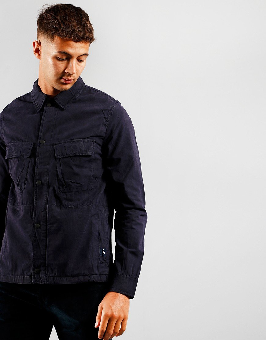 Paul Smith Snap Front Overshirt Dark Navy 49
