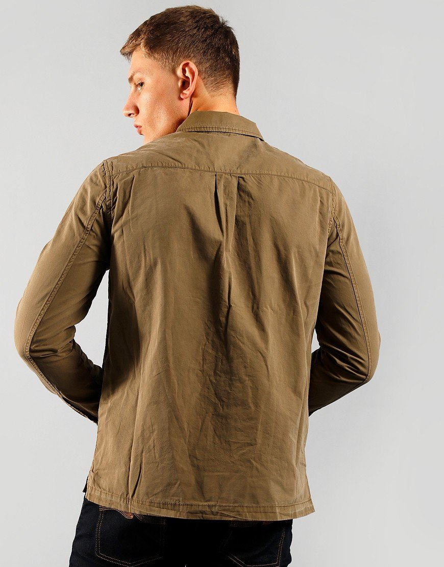 Paul Smith Snap Front Overshirt Hazel
