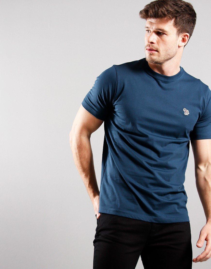 Paul Smith Short Sleeve T-Shirt Petrol Blue