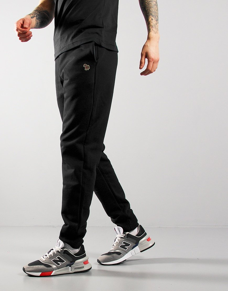 Paul Smith Zebra Logo Sweat Pants Black