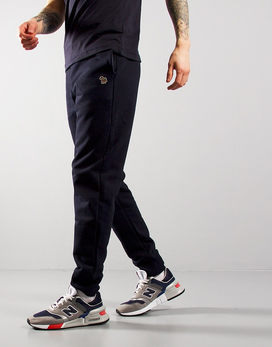 Paul Smith Zebra Logo Sweat Pants Dark Navy