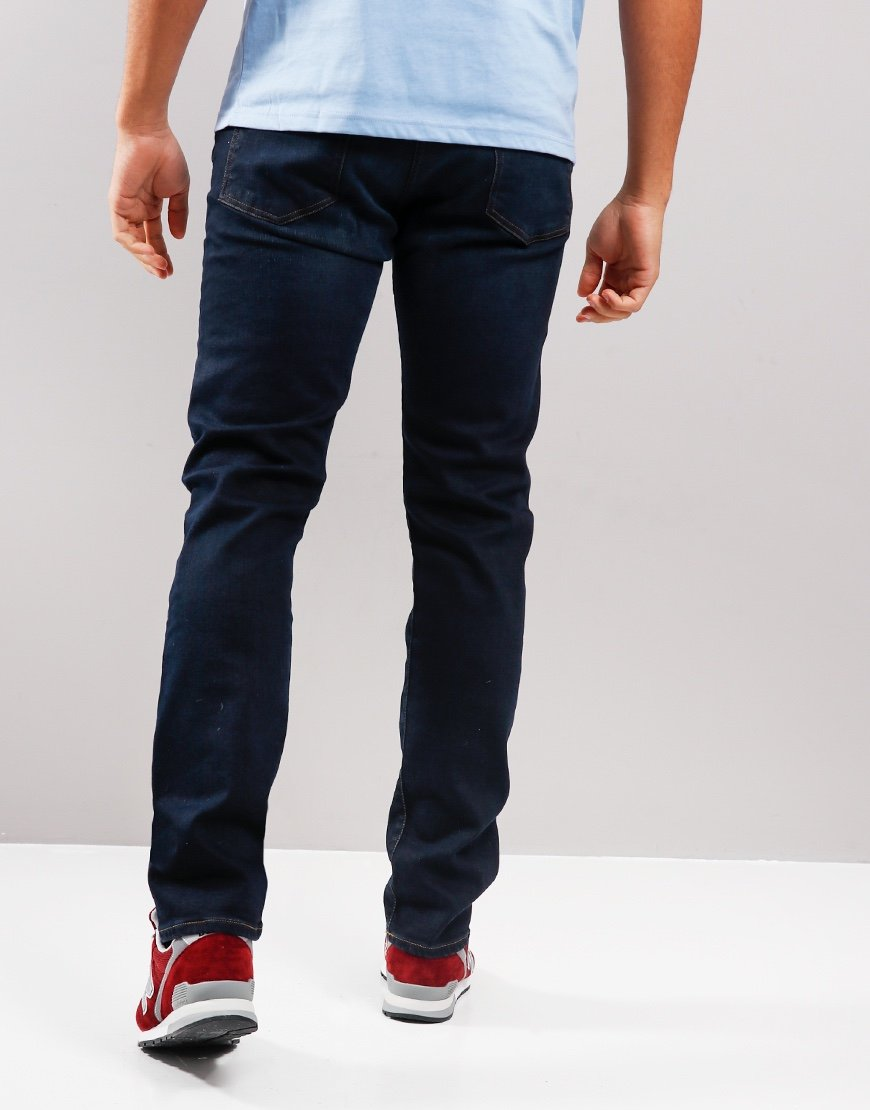 Paul Smith Tapered-Fit Dark-Wash Denim Jeans