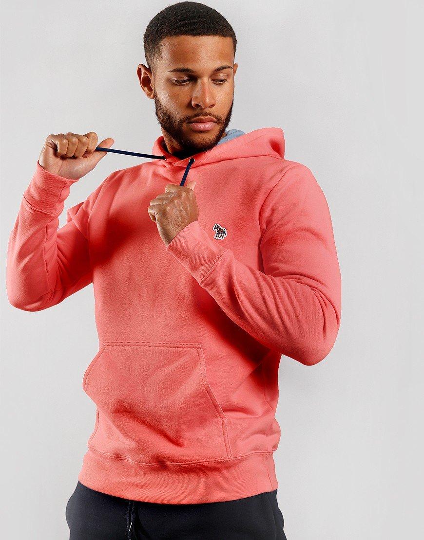 Paul Smith Zebra Hooded Sweat Pink 24